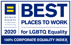 human rights campaign 2020 best places to work for lgbtq equality