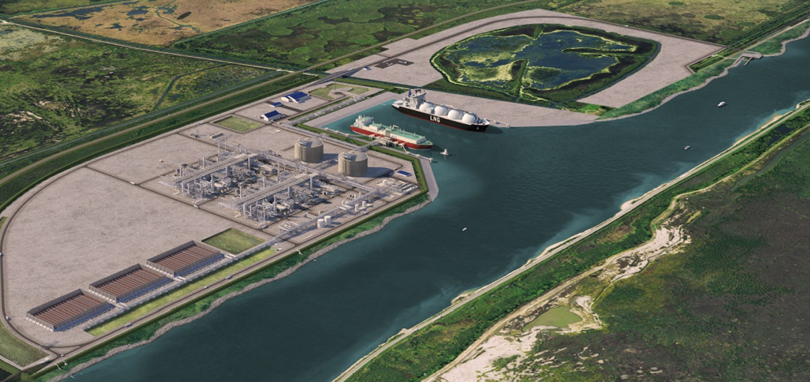 Port Arthur LNG Phase 1