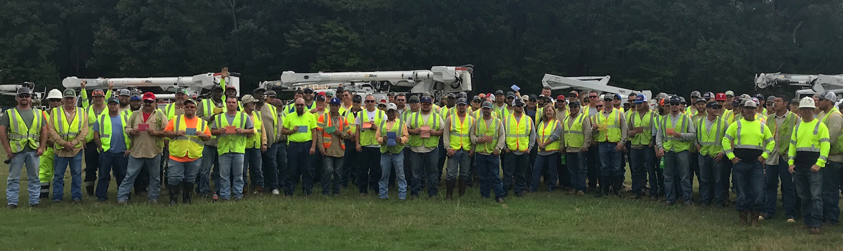 Oncor crews in North Carolina
