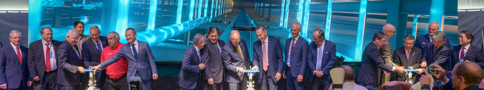 Cameron LNG Celebrates Commercial Operations With Dedication Ceremony
