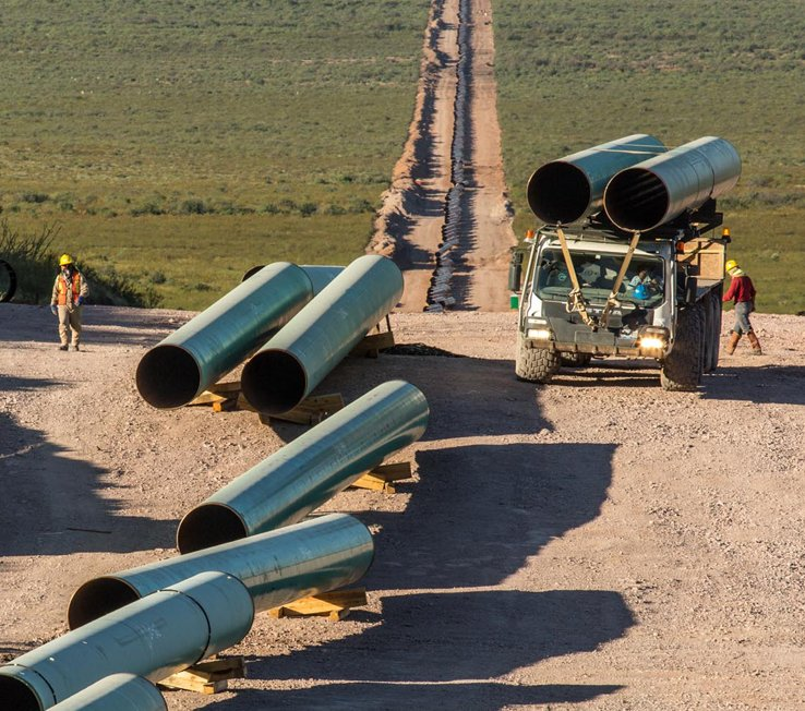 Ojinaga – El Encino natural gas pipeline in Mexico