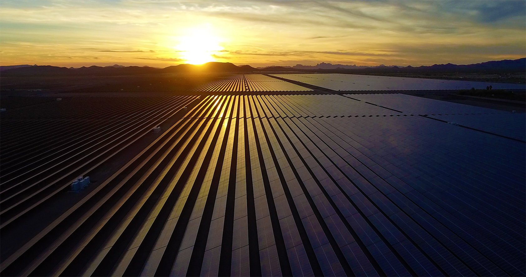About Us - Mesquite Solar 1 array in Arizona