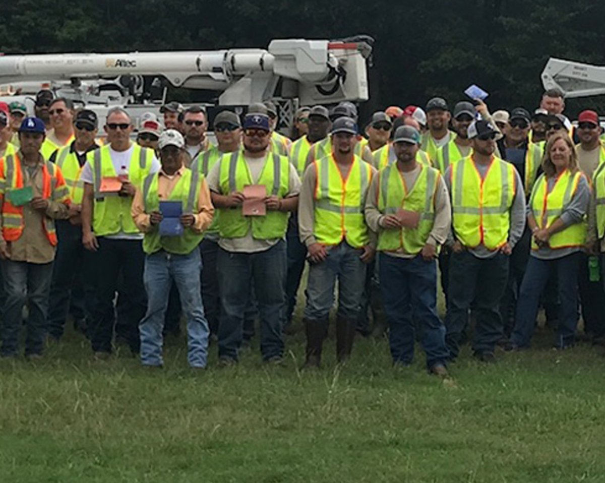 Oncor employees
