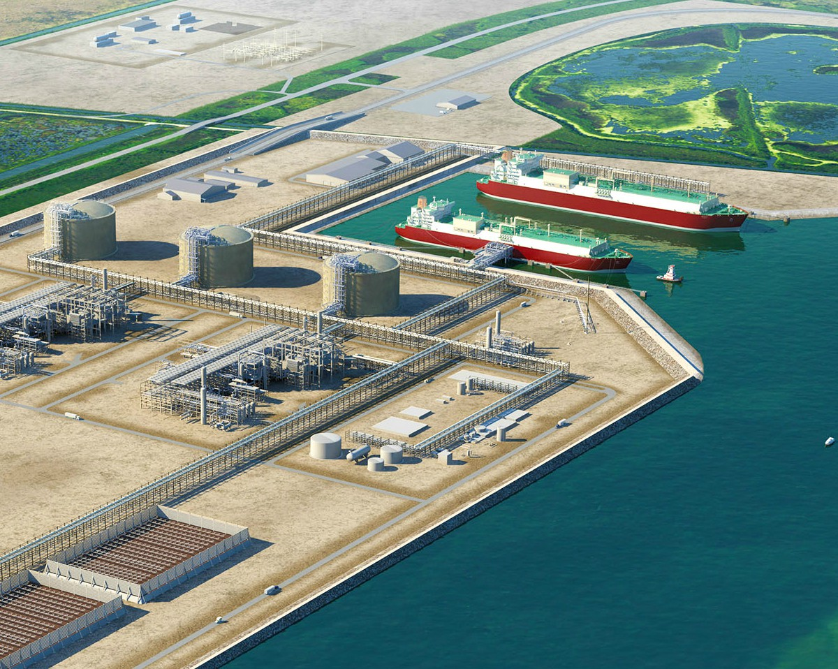 Sempra LNG and Aramco Services Company sign HOA for Port Arthur.