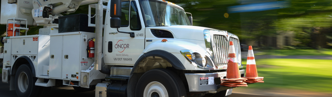 Growth in Texas, Oncor truck